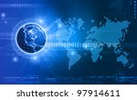 global communications | Shutterstock . vector #97914611