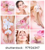 spa collage | Shutterstock . vector #97926347