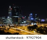 Perth  Evening Skyline From...