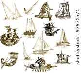 Collection Of Ships Of All...