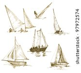 Sailing Collection   Drawing A...