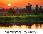 Egypt. Sunrise At The Nile...