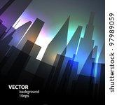 abstract vector background. | Shutterstock .eps vector #97989059