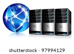 servers and communication... | Shutterstock .eps vector #97994129