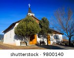 an old historical spanish...   Shutterstock . vector #9800140