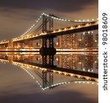 Manhattan Bridge And Manhattan...