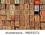 Old Wood Boxes  Morocco