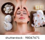 spa massage | Shutterstock . vector #98067671