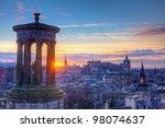 Scotland Edinburgh Calton Hill