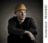 Portrait Of The Young Worker...