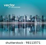 city landscape | Shutterstock .eps vector #98113571