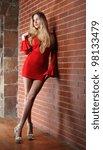 active  beautiful girl in the... | Shutterstock . vector #98133479