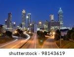 Skyline Of Downtown Atlanta ...