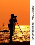 Photographer Silhouette...