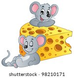 Mouse Theme Image 2   Vector...
