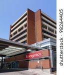 modern hospital building and... | Shutterstock . vector #98264405