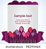 greeting card  vector... | Shutterstock .eps vector #98295464