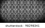 Floral Seamless Pattern Background - stock photo
