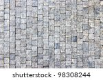Granite Cobblestoned Pavement...