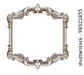 vintage border  frame engraving ... | Shutterstock . vector #98321855