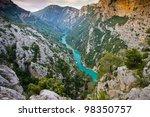 Verdon Gorge  Provence  France