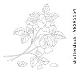 flowers  rose bouquet  love... | Shutterstock . vector #98395154