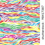 Vector Abstract Colorful Skin...