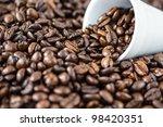 coffee beans | Shutterstock . vector #98420351