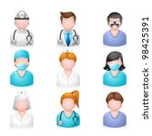 button,clinical,clip art,computer,design,doctor,emergency,expertise,girl,graphic,hair style,health care,hospital,human,icon set