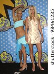 paris hilton  left    nicky... | Shutterstock . vector #98461235