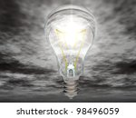 the light bulb   Shutterstock . vector #98496059