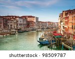 grand canal at early morning. | Shutterstock . vector #98509787