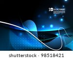 vector design   eps10 abstract... | Shutterstock .eps vector #98518421