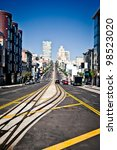 california street in san... | Shutterstock . vector #98523020