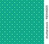 Green Seamless Geometric...
