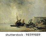 Постер, плакат: Postcard printed in the