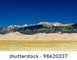 Mountain Desert Landscape Scen...