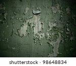 Old Dark Paint Texture Peeling...