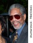 Actor Morgan Freeman At...