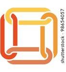 link icon | Shutterstock .eps vector #98654057