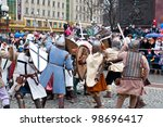 kaliningrad   january 8 ...   Shutterstock . vector #98696417