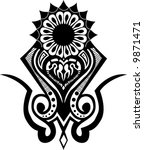 tribal vector | Shutterstock .eps vector #9871471