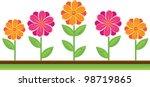 clip art illustration of cute... | Shutterstock . vector #98719865