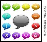 vector sign icon set