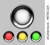 glossy buttons  eps10 | Shutterstock .eps vector #98781164