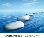 An Image Of Some Step Stones In ...