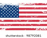 usa american flag. vector   Shutterstock .eps vector #98792081