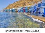 klima fishing village  milos... | Shutterstock . vector #98802365