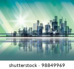 city landscape. raster version | Shutterstock . vector #98849969
