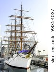 Sail Training Ship In Yokohama  ...